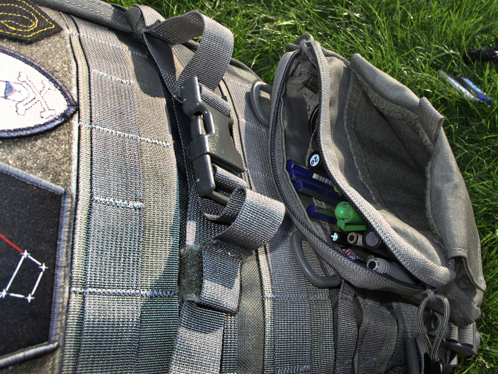 TAD op1 molle pouch