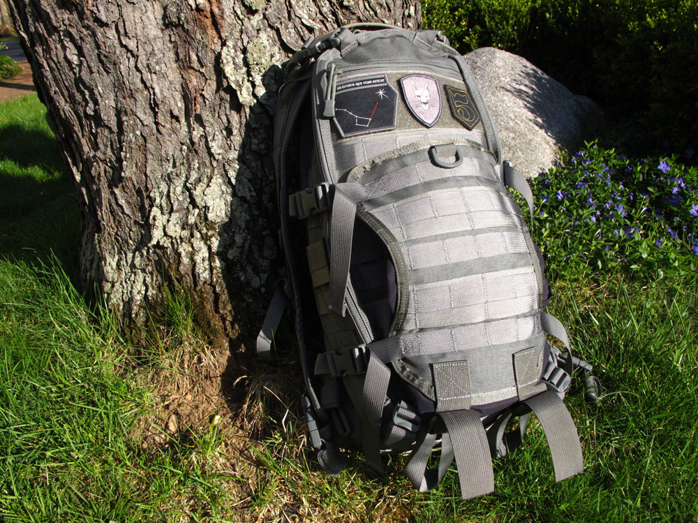 TAD gear litespeed pack with tail