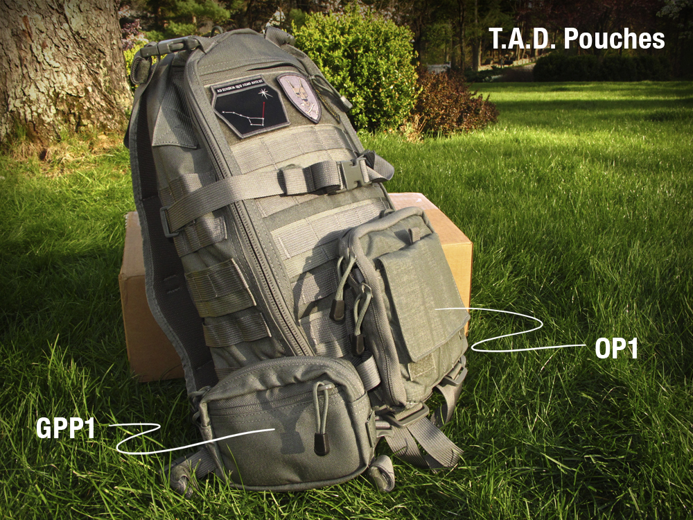 TAD Molle pouches